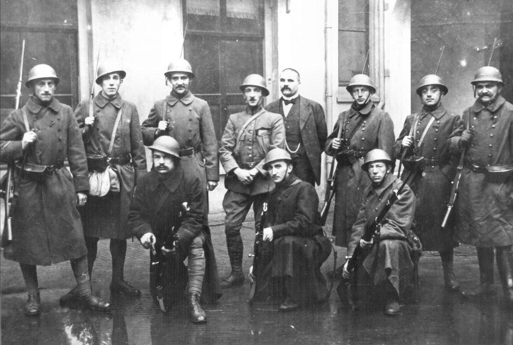 Buitengewone vrijwilligers in 1918