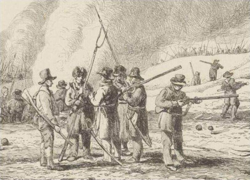 Landstorm van 's-Graveland 1814