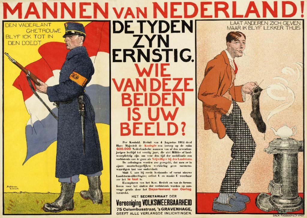 Mannen van Nederland; De tyden zyn ernstig