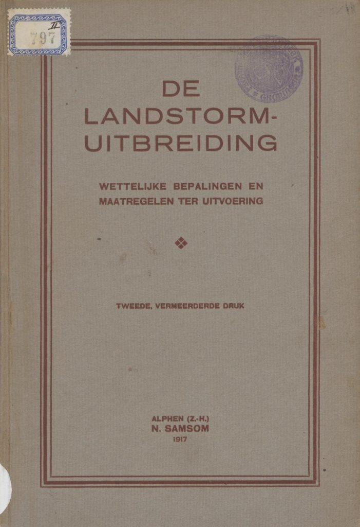 De Landstormuitbreiding van 1917