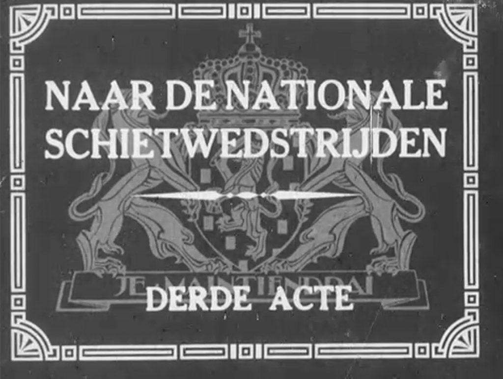 Nationale Schietwedstrijden; deel 3