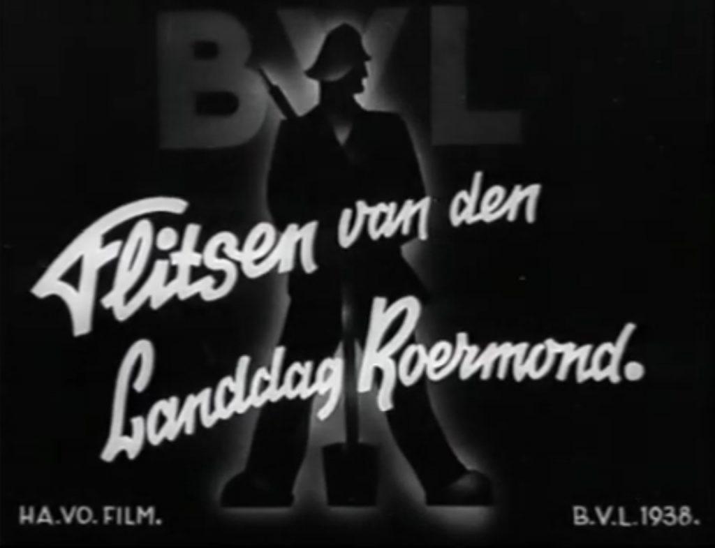 Flitsen van de Landdag Roermond 1938