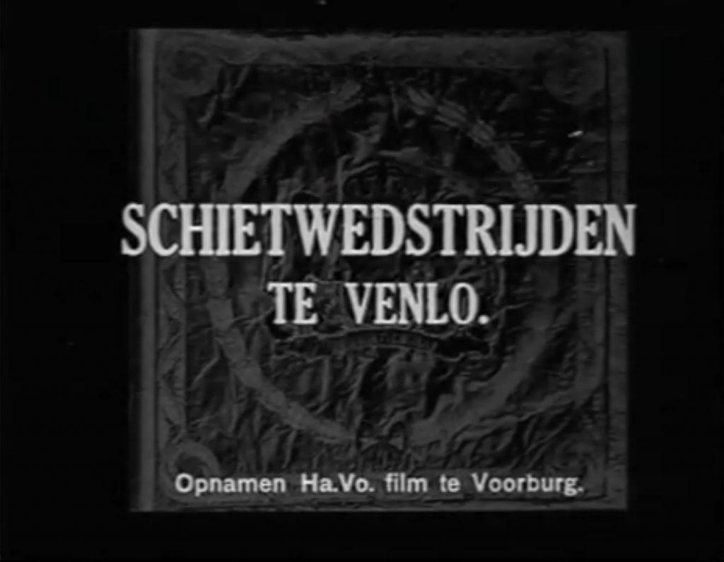 Schietwedstrijden te Venlo in 1936