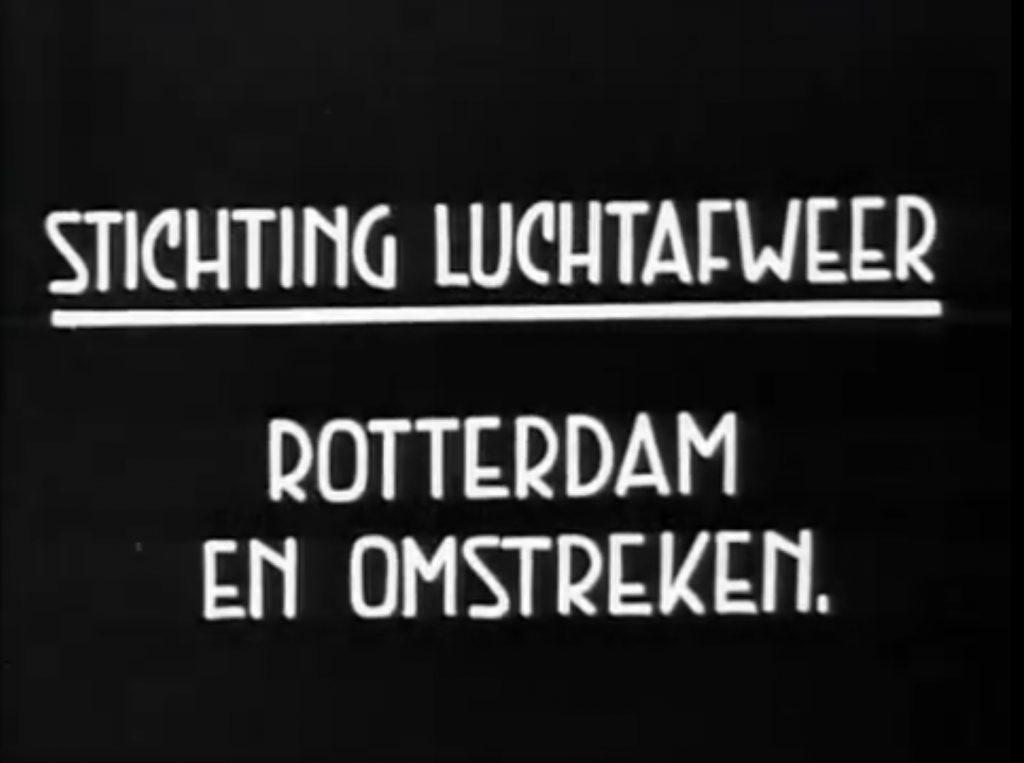 Stichting Luchtafweer Rotterdam 1939