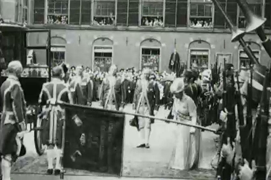 Opening Staten Generaal – 1923