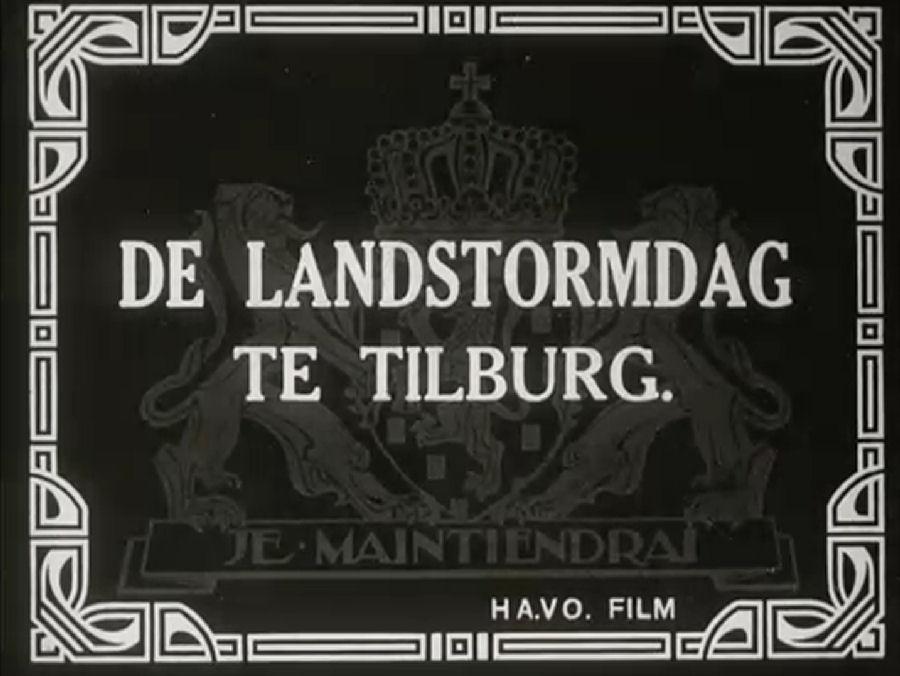 Landdag Tilburg – 1934