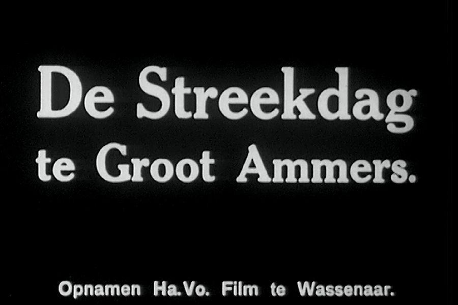 Landdag Groot Ammers – 1937
