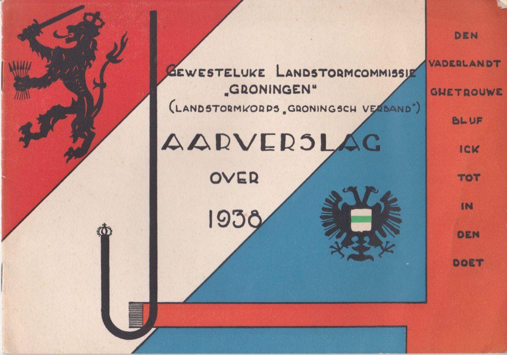 Jaarverslag Gewestelijke Landstormcommissie Groningen – 1938
